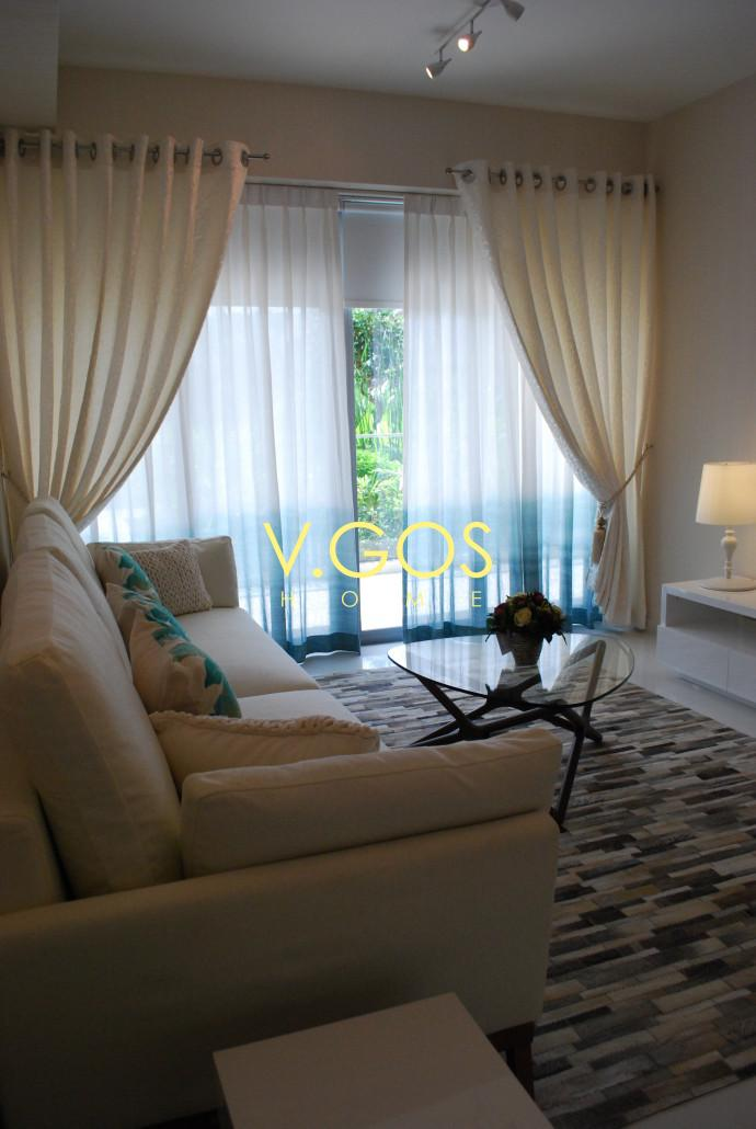 Curtains wallpapers and blinds at serangoon by v gos home - Wallpaper and curtain sets ...