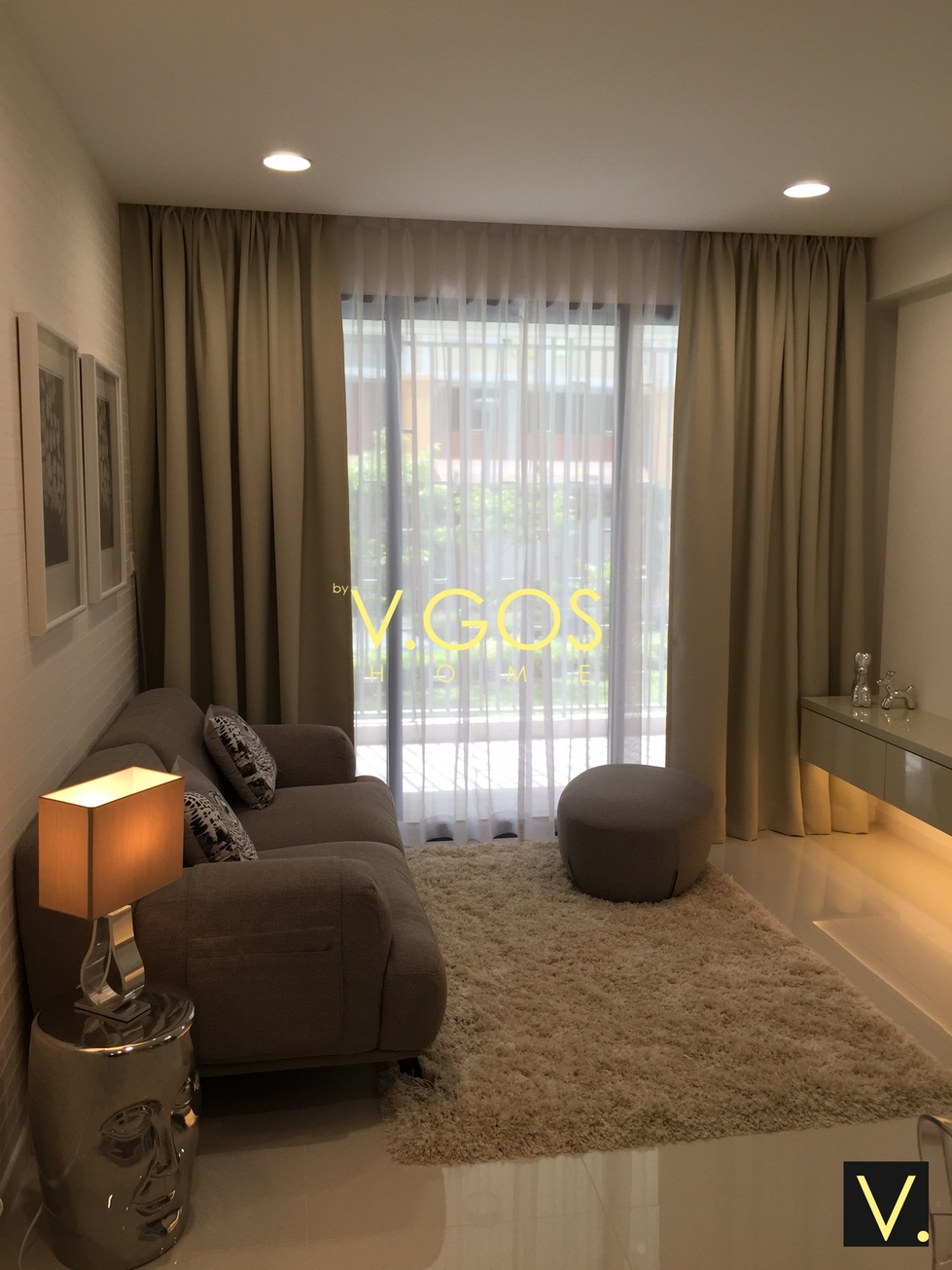 Wallpaper Curtains by VGOS Home Singapore