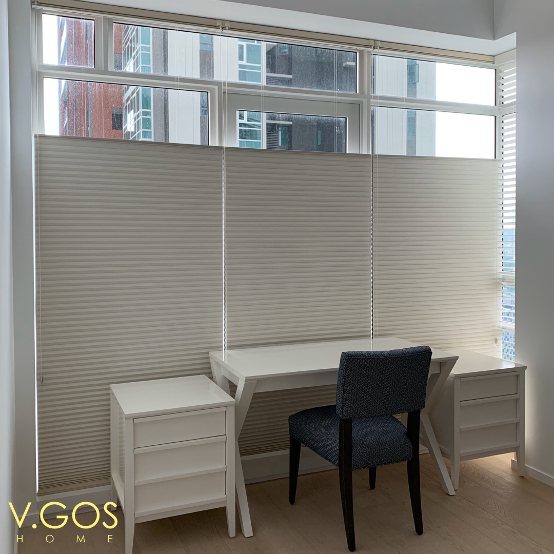 Duette Honeycomb Shades Top Down Bottom Up Design